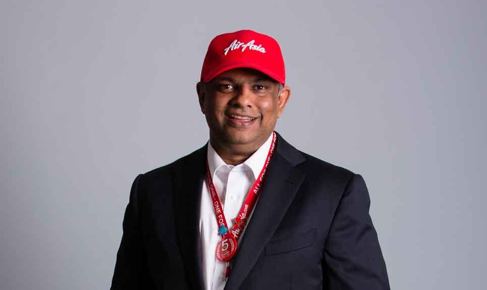 Tan Sri Tony Fernandes Adalah Merupakan Ketua Pegawai Eksekutif