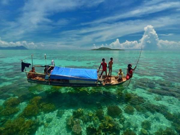 Pulau DI Malaysia - Pulau Samporna