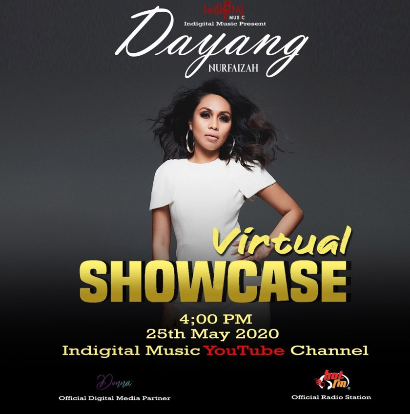 Showcase Virtual Dayang Nurfaizah - 25 May 2020