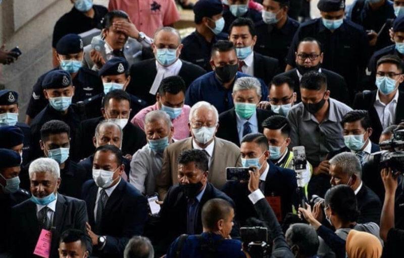 Datuk Seri Najib Bersalah Kesemua Tujuh Pertuduhan